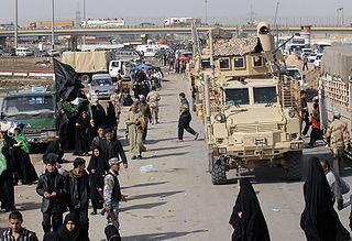 Baghdad Airport Road road in Iraq