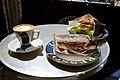 Flickr - cyclonebill - Cortado og sandwich.jpg