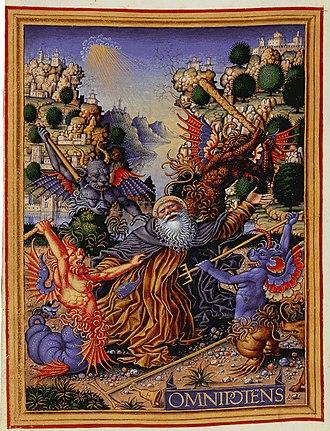 Sforza Hours - St Anthony by Birago