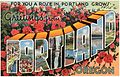 For you a rose in Portland grows. Greetings from Portland, Oregon (74156).jpg