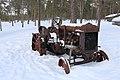 Fordson tractor, Inari, Suomi - Finland 2013-03-10.jpg