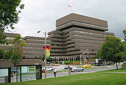 The Lester B. Pearson Building home of Foreign Affairs and International Trade Canada