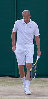 Guy Forget French tennis player