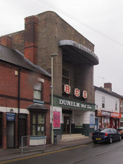 Former Rex Cinema, Coalville (geograph 4651030)