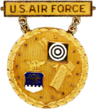 Former U.S. Air Force National Gold Excellence-in-Competition (EIC) Pistol Badge