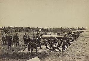 Fort Richardson (Arlington, Virginia) - 1st Connecticut Heavy Artillery at Fort Richardson