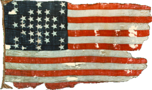 Fort Sumter storm flag 1861