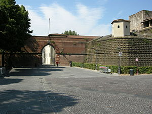 Fortezza da Basso - Entrance to the fort