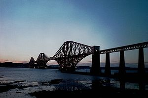 Cantilever - Image: Forth Bridge Edinburgh