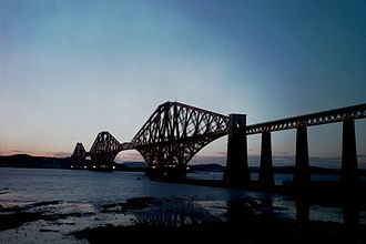 Cantilever bridge - Image: Forth Bridge Edinburgh