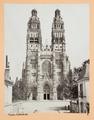 Fotografi av Tours. Cathédrale - Hallwylska museet - 104695.tif