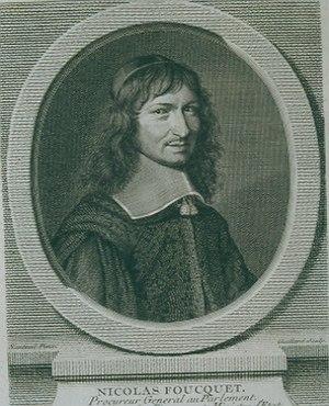 Barthélemy Hervart - Portrait of Fouquet.
