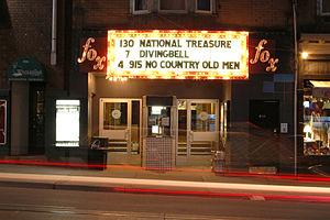 Fox Theatre (Toronto) - Image: Fox Theatre Marquee