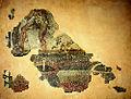 Fragment d'une mosaïque découverte à Lyon et représentant le foulage du raisin.jpg