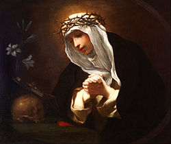 Franceschini, Baldassare - St Catherine of Siena - Google Art Project.jpg