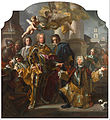 Francesco Solimena - Emperor Charles VI and Gundacker, Count Althann - Google Art Project.jpg