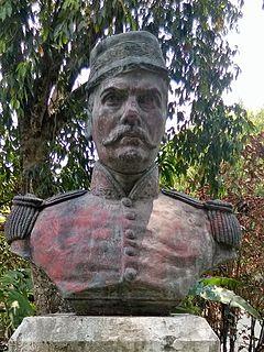 Francisco Malespín President of El Salvador
