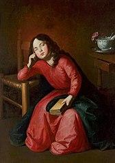 Najświętsza Maria Panna jako śpiąca dziewczynka