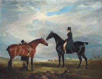 Quorn Hunt - Image: Frank Hall Standish with the Quorn Hunt, 1819