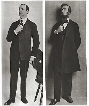 Frank McGlynn Sr. - McGlynn as Lincoln in John Drinkwater's play (c. 1920)
