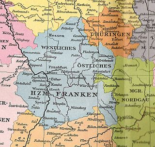 Duchy of Franconia duchy of Holy Roman Empire (906-1168)