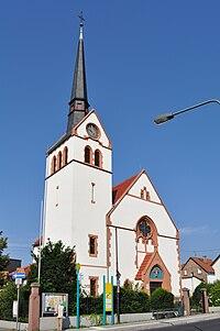 Frankfurt-Sossenheim, evangelische Kirche.JPG