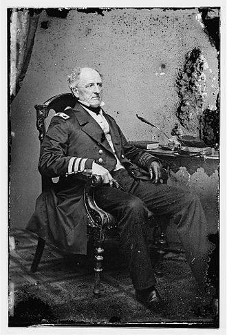 Battle of Mobile Bay - Admiral Franklin Buchanan, CSN