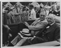 Franklin D. Roosevelt and Josephus Daniels at 4,H Tent City in West Potomac Park - NARA - 196530.tif