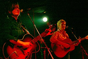 Freakwater - Catherine Irwin and Janet Bean in 2006