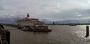 MV Boudicca - Image: Fred Olsen, Boudicca, Liverpool 3 May 2013 (4)