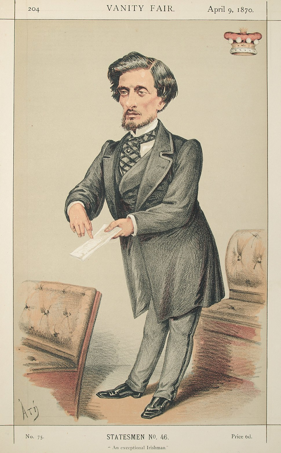 Frederick Hamilton-Temple-Blackwood, Vanity Fair, 1870-04-09