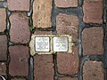 Freiburg, Germany Stolperstein for Max and Olga Mayer, June 2013.jpg