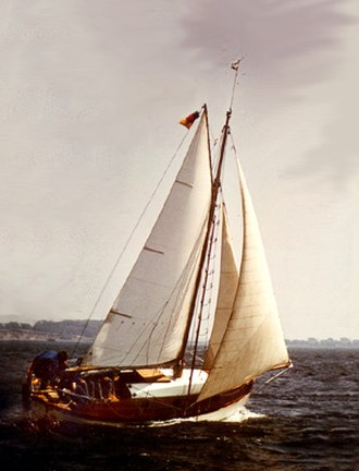 Sailboat - A gaff cutter