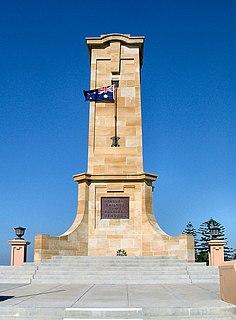 Fremantle War Memorial war memorial and park in Western Australia