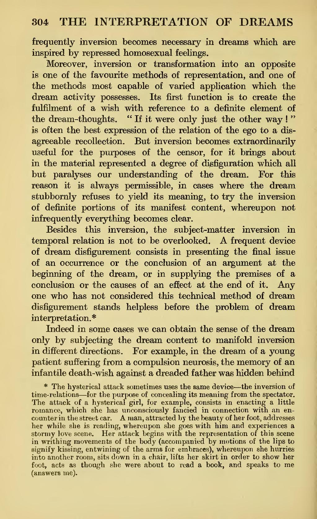 Dream dictionary homosexual