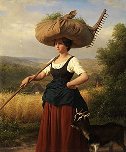Friedrich Eduard Meyerheim Heimkehr vom Feld 1849
