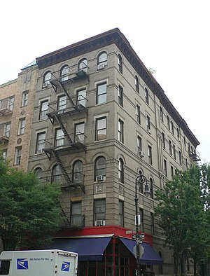 The Greenwich Village building seen in TV seri...
