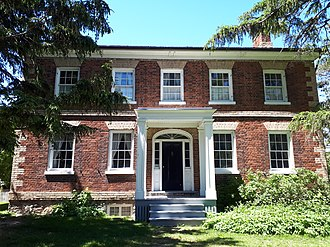 Gibson House - Image: Front of Gibson House