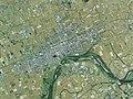 Fukagawa city center area Aerial photograph.2009.jpg