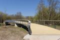 Fulda Fulda River Aue Bicycle Bridge Construction NW.png
