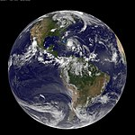 Full Disk Image of Earth Captured August 24, 2011 (6076923014).jpg