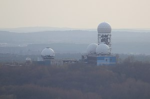 Teufelsberg - Former US listening station on the top of the hill