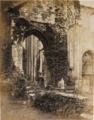 Furness Abbey, Arch in central Transept;.PNG