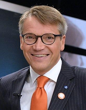Minister for Public Health (Sweden) - Image: Göran Hägglund 12 Sept 2014