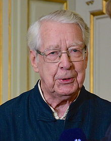 Göran Malmqvist 11 oktober 2012 i Börshuset, Stockholm.