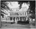 GENERAL VIEW OF FACADE - Compton-Bowen House, Front Street, Mauricetown, Cumberland County, NJ HABS NJ,6-MAUR,2-1.tif