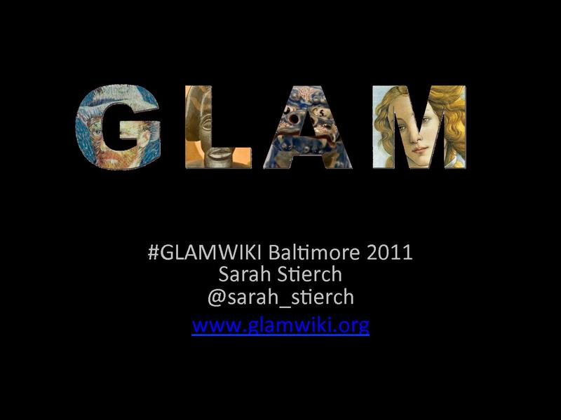 File:GLAM Baltimore - Stierch.pdf