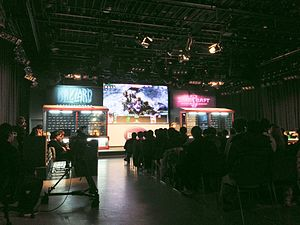 Global StarCraft II League - GOMtv Studio in Gangnam