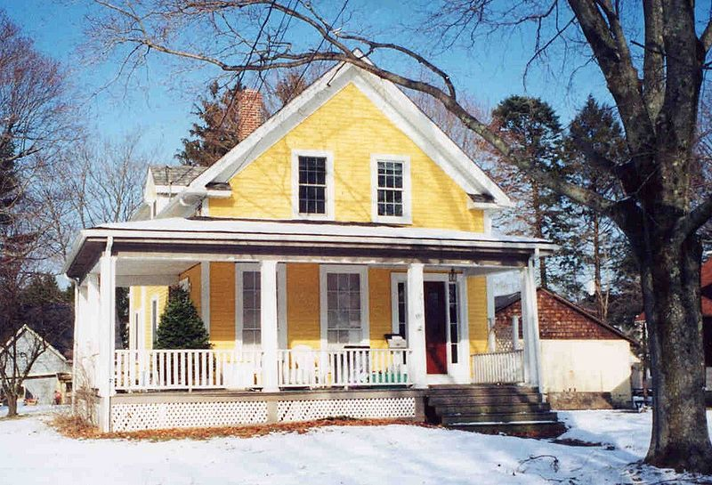Ge kritik till planl sning for Gables on a house