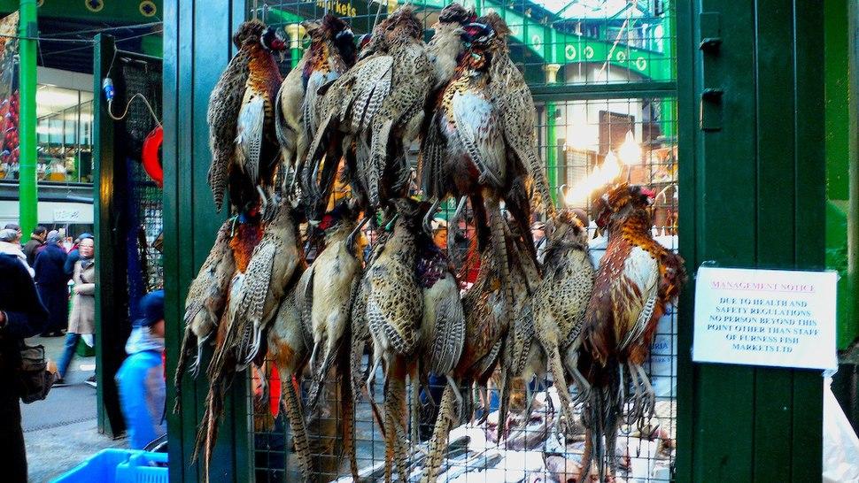 Game birds Borough Market